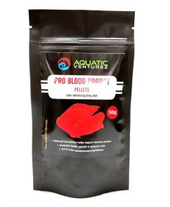 Aquatic Venturez Pro Blood Parrot Pellets